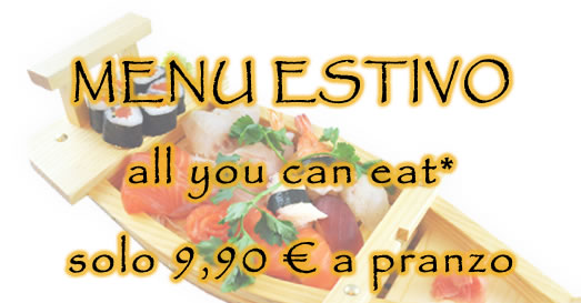 all you can eat estivo pranzo 2019